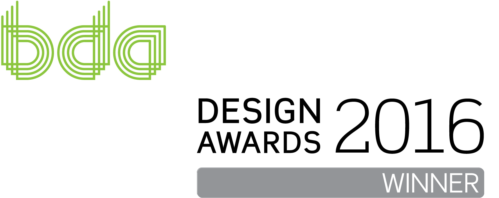 BDA Designs Awards Logo Winner
