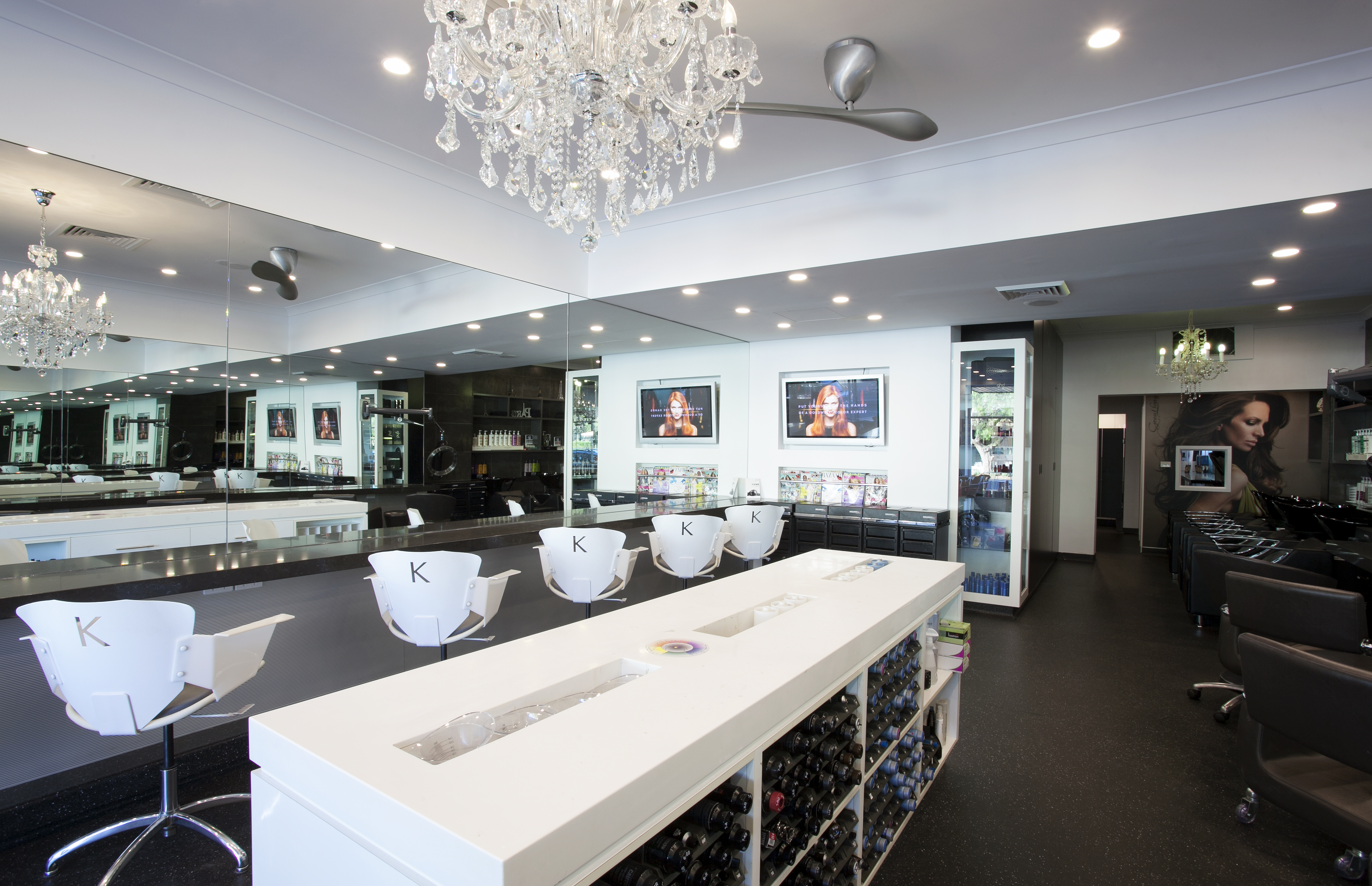 Commercial made in paris hair salon mosman 2013 for Salon design paris
