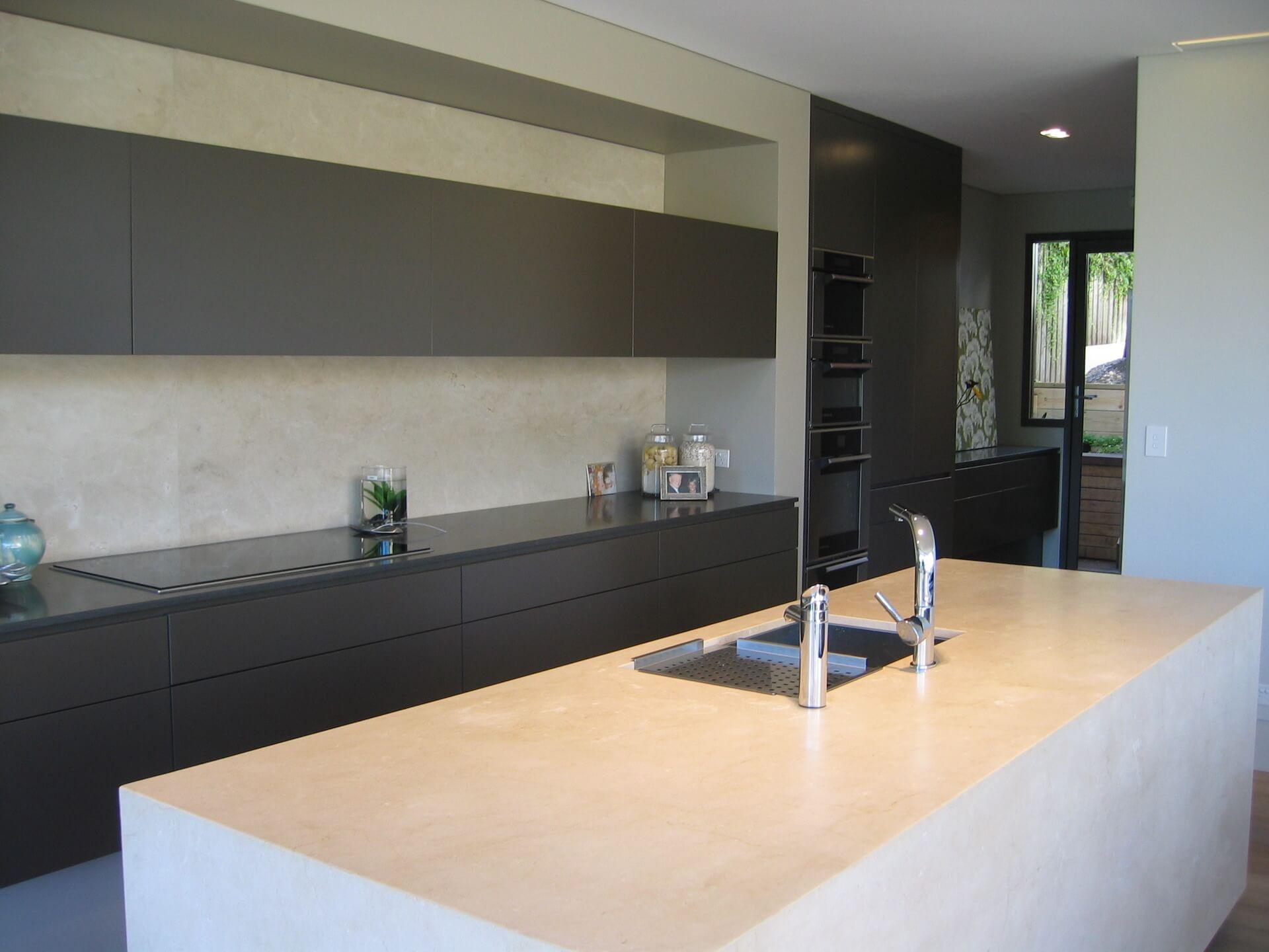 9. Kitchen view 3 side door
