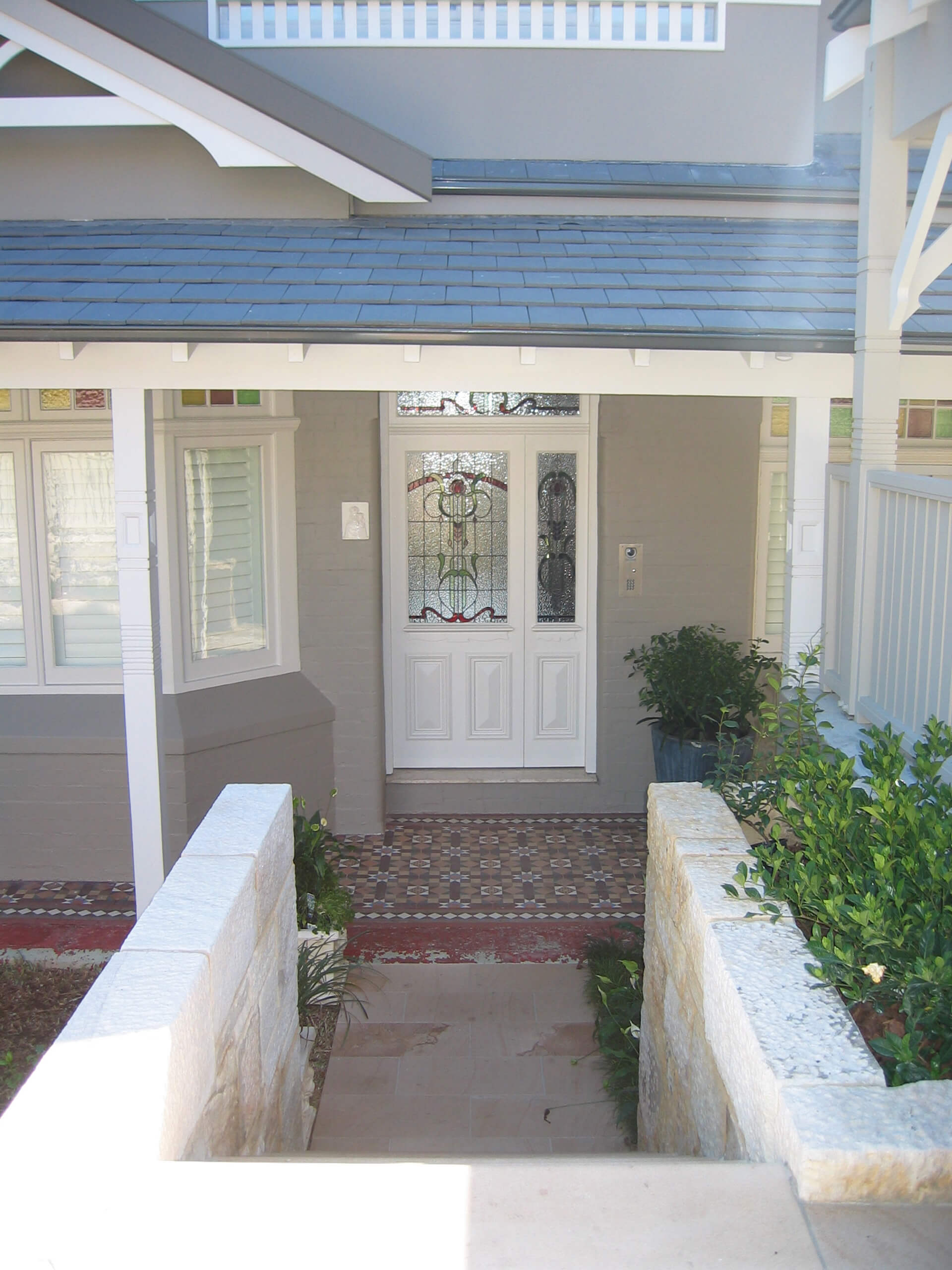 3. Exterior Front entry detail 2